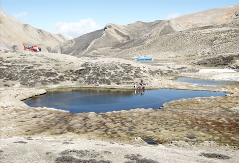 DAMODAR KUND TOUR BY HELICOPTER - 05 NIGHTS 06 DAYS