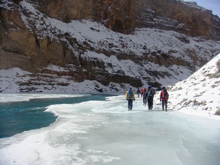 Chadar Trek on the Frozen River of Zanskar, India