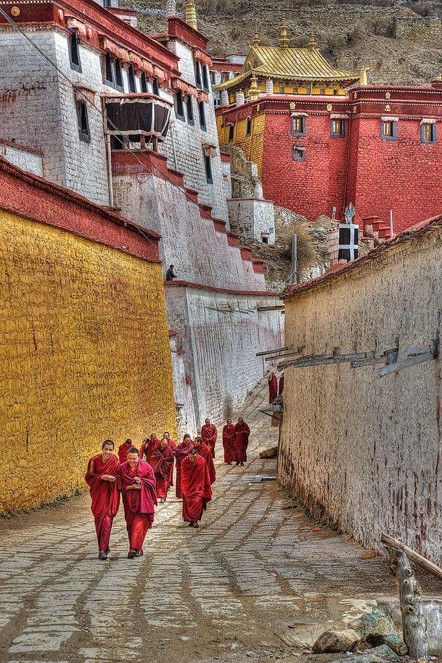 Ganden to Samye, Tibet