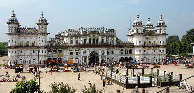 Janaki Mandir of Janakpur Dham