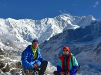 Latvian couples passion for trekking: We will come back again