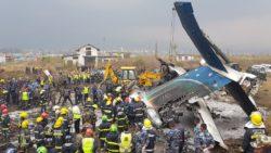 49 dead in US-Bangla plane crash at Kathmandu airport