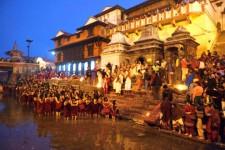Shivaratri is celebrated as birth-night of Lord Shiva.