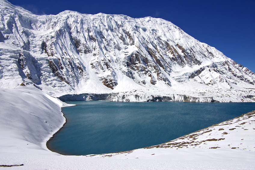 High-mountainous lake Tilicho