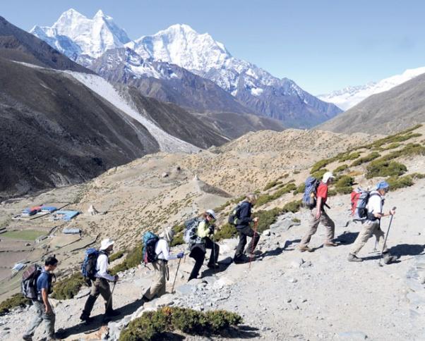 Trekking-in-Nepal
