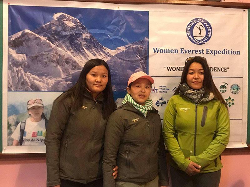 Women Climbers