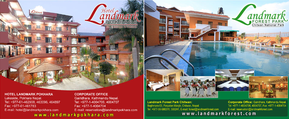 Hotel Landmark Pokhara and Landmark Forest Park Chitwan