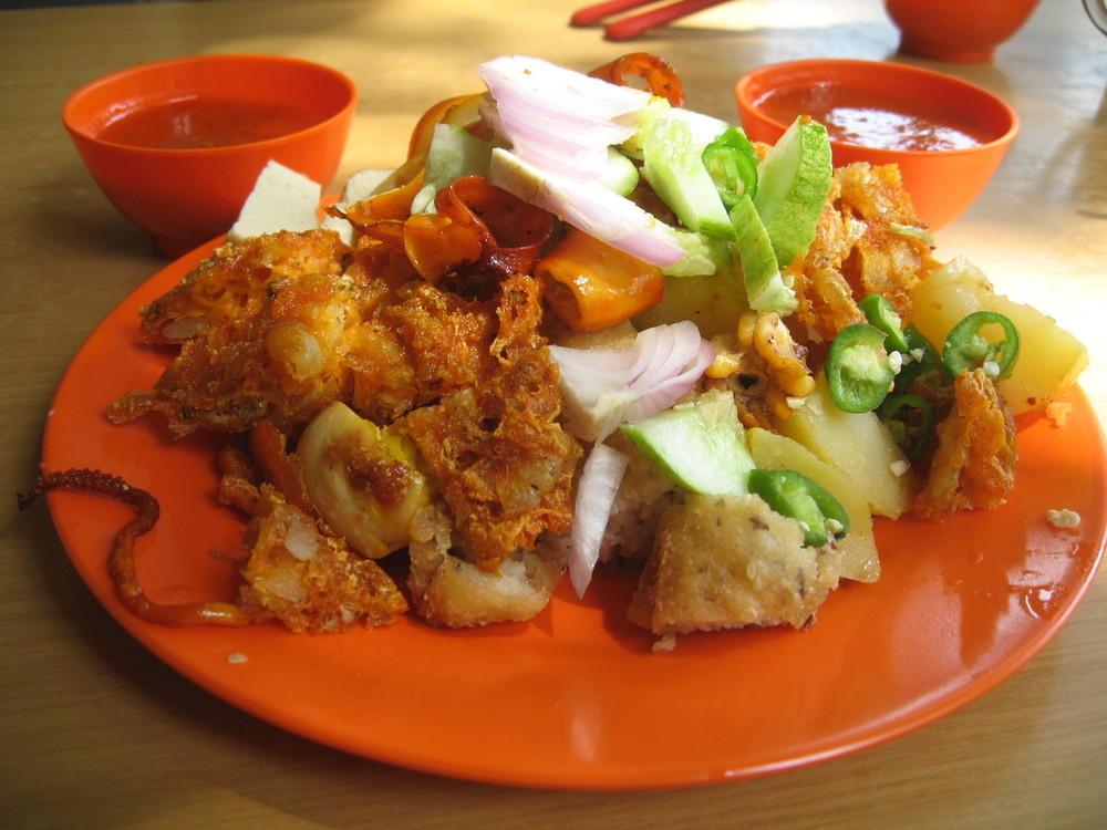 Indian Rojtak, a popular dish