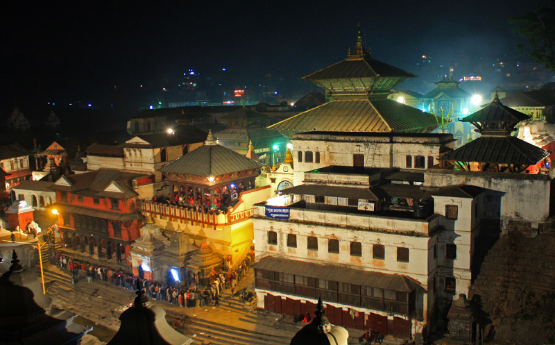 Maha Shivaratri at Pashupatinath Temple