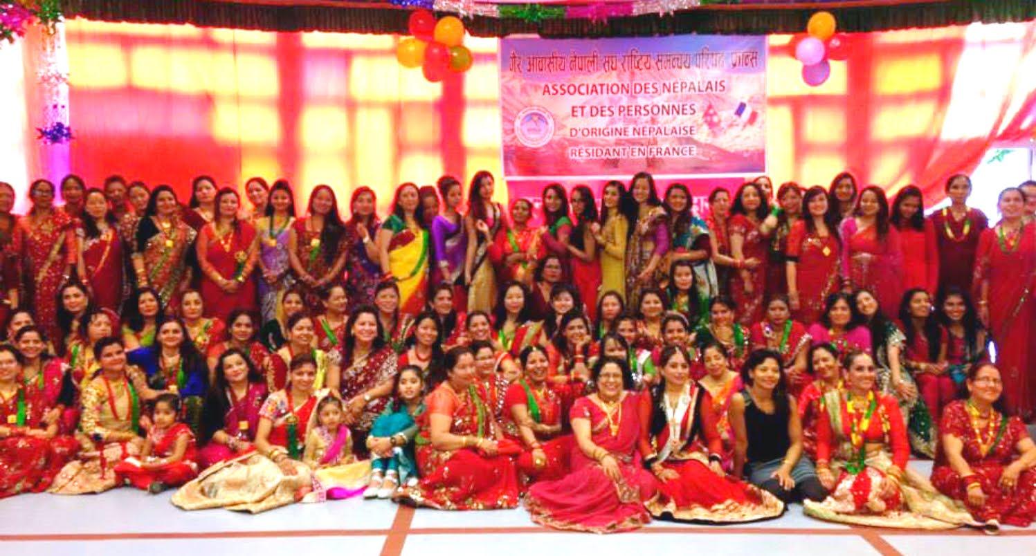 HAPPY TEEJ FESTIVAL IN NEPAL