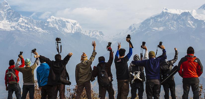 Tourist at Nepal