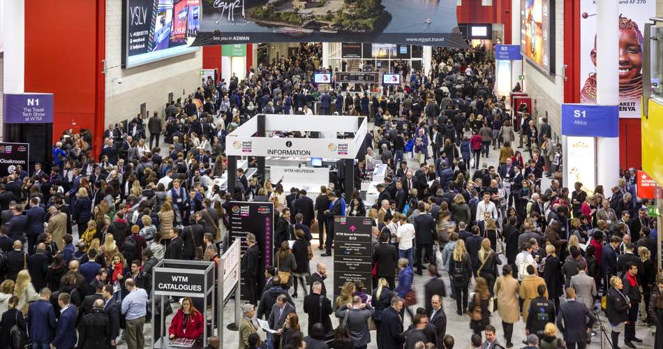 World Travel Market 2016, ExCeL, London.