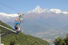 Zip Flyer at Sarangkot, Pokhara