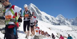 Nepali runners dominate Everest Marathon