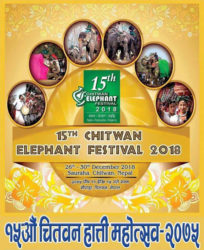 15th Chitwan Elephant Festival 2018