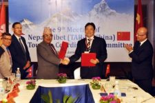 Nepal, Tibet ( PRC) sign MoU to promote tourism, 10th JTCC meeting in TAR