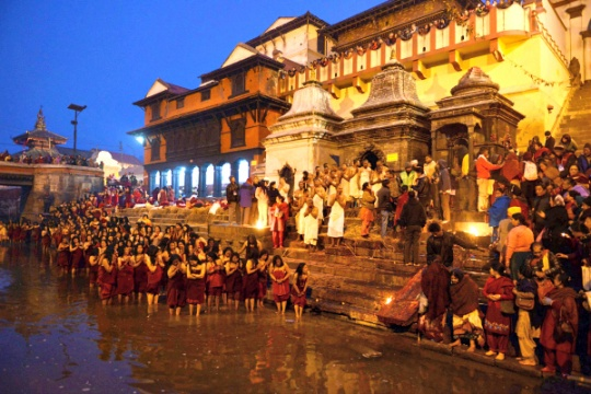 Image result for shivaratri in pashupatinath