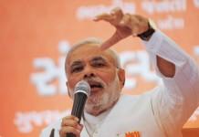 """Indian PM Narendra Modi said """"Buddha Bhumi (land of Buddha) Nepal"""""""