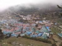 Left intact in quake, Namche Bazaar awaits tourists