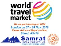 World Travel Market 2016 – The world meets in London