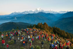 Western Nepals tourist destinations Poon Hill and Ghorepani witness high tourist influx